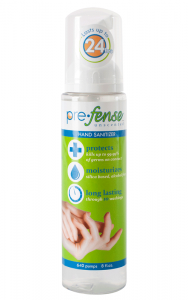 Prefense Hand Sanitizer, Scented (8oz)