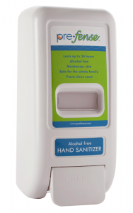 Prefense Hand Sanitizer Manual Dispenser