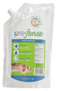Prefense Hand Sanitizer Dispenser Refill, Scented